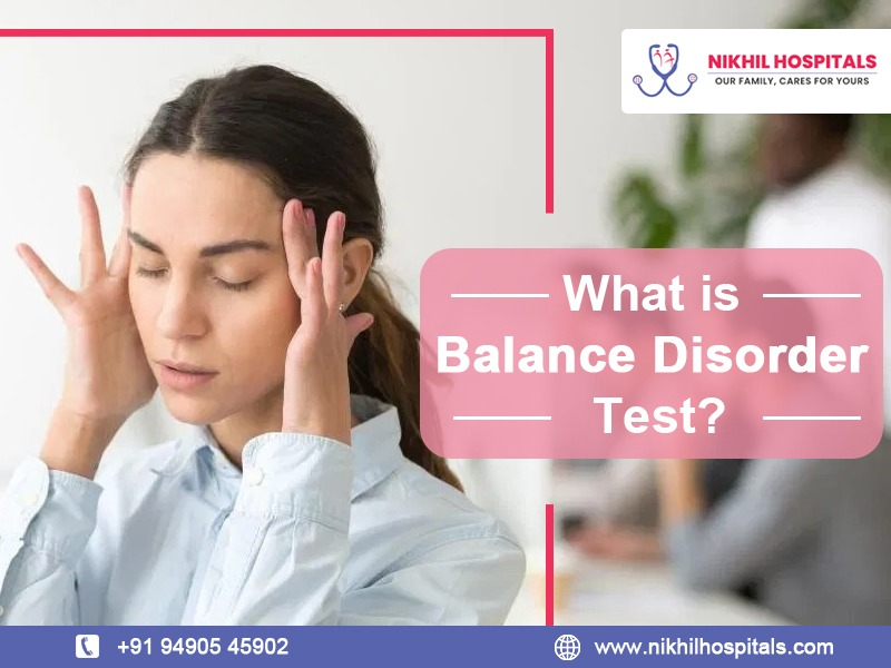 what is balance disorder test